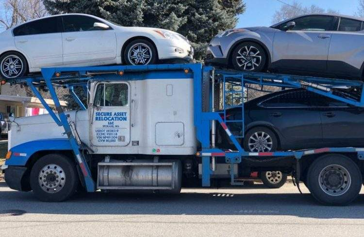 Cheap car shipping service in Washington   Secure Asset Relocation
